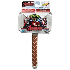 "Marvel avengers thor battle hammer - hasbro - toys ""r"" us Marvel Avengers, Pokemon Party Decorations, Thor Y Loki, Army Men Toys, Captain America Costume, Nerf Toys, Avengers Birthday, Cute Baby Dogs, Kids Room Organization"