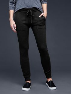 Love this style of pant. I have shoes exactly like this and wear them with black leggings or black loose comfy pants from old navy.