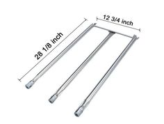 BBQ Replacement Parts Weber Genuine Set Stainless Steel Tube Burner Gas Grill Bbq Grill Parts, Portable Bbq, Stainless Steel Tubing, Dutch Oven, Outdoor Cooking, Tube, Tableware, Ebay, Crickets
