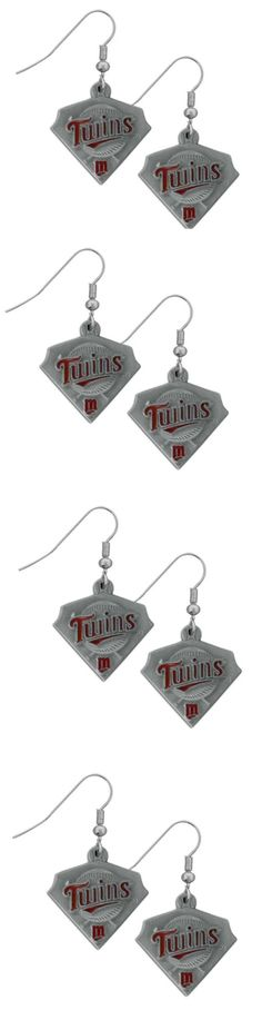 Minnesota Twins Classic Dangle Earrings! Click The Image To Buy It Now or Tag Someone You Want To Buy This For. #MinnesotaTwins