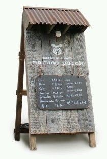 wood and white signage shop Signage Design, Cafe Design, Store Design, Menu Signage, Rustic Restaurant Design, Industrial Restaurant, Menue Design, Coffee Shop Design, Rustic Coffee Shop