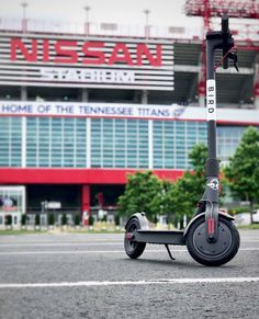 Pretty cool addition to the getting-around landscape in #Nashville: You can now rent motorized scooters through Bird: