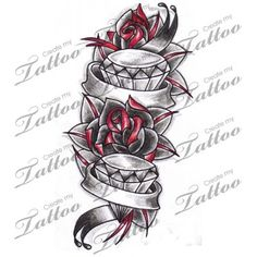 Image result for diamond banner tattoo design