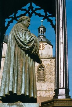 Luther Memorials in Eisleben and Wittenberg - Eisleben, Thuringia, & Wittenberg, Saxony-Anhalt, Germany