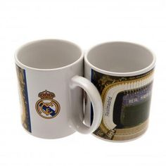 - ceramic mug- approx tall, in diameter- 11 oz- in an acetate box- official licensed product Real Madrid Official, Football Memorabilia, Football Soccer, Sd, Finding Yourself, Ceramics, Mugs, Coffee, Tableware