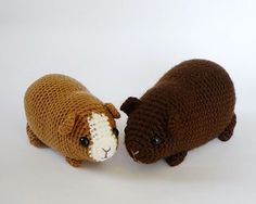 Chubby Guinea Pig by Kati Galusz  pattern $4.50 i really want someone to make me this haha