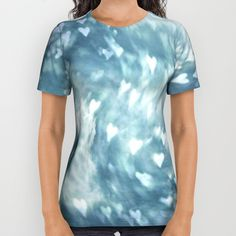 Shower+the+World+with+Love+All+Over+Print+Shirt+by+Geni+-+$34.00
