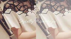 간류마켓 ♡ kanrrryu ♡ 간류 ♡ StyleByKanrrryu ♡ 스타일바이간류 ♡ 벌집블라우스 ♡  www.kanrrryu.com