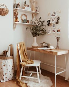 Ideas Para, Office Desk, Furniture, Home Decor, Decoration, Homemade Home Decor, Decoration Home, Desk, Home Furniture