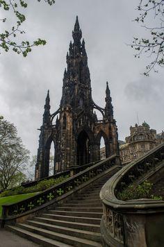 Edinburgh monument #castle #fairytale-Forever Fairytales➳♥