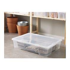 SAMLA Box, clear - clear - IKEA