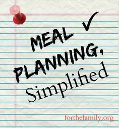 You're gonna LOVE this super-cool Web site that will streamline all aspects of meal planning at your house!