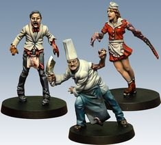 CMON is raising funds for The Others: 7 Sins on Kickstarter! A horror board game with amazing miniatures, where a handful of heroes must face the terrifying corruptive forces of the Seven Sins. Figure Painter, Painting Process, Mini Paintings, Miniatures, Miniature Gaming, Warhammer Paint, Fantasy Creatures, Sins, 7 Sins