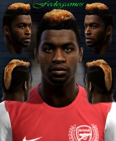 A. Song face for Pro Evolution Soccer 2012