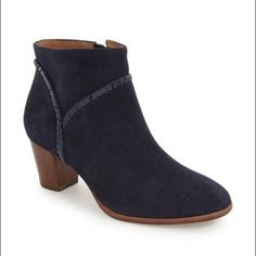 195dab7eb913 Shop Women s Jack Rogers Blue size 8 Ankle Boots   Booties at a discounted  price at Poshmark. Description  New without tags Jack Rogers dark blue  suede with ...