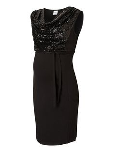 Sequins maternity dress from MAMALICIOUS - perfect for new years! #mamalicious #maternity #dress #party