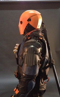 Profile of Deathstroke's Armor