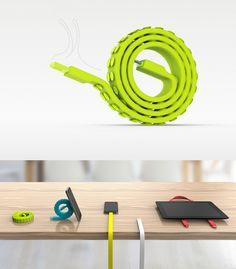 More than just a #mobile #cord, the Snail Haptor #USB #Cable features a unique…