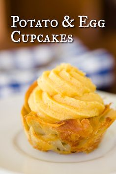 Potato and Egg Cupcakes (from Cupcake Project - cupcakeproject.com)