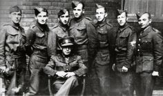 Participants of the first Czechoslovak assault course in Scotland (was held from 17.07. till 7.08.1941) within the bounds of the training for special operations. On the right - Jozef Gabčík. London, headquaters of II. Department of National Defense in Porchester Gate, August 1941. Assault Course, We Will Never Forget, Paratrooper, Wwii, Gate, Scotland, Army, Military, Training