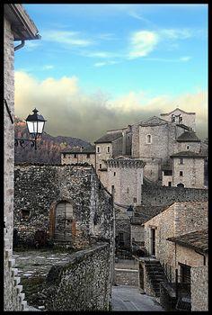 Vallo di Nera, Valnerina, Italy., province of Perugia Umbria