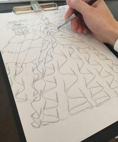 Dress Design Drawing, Dress Design Sketches, Fashion Design Sketchbook, Fashion Design Drawings, Fashion Sketches, Fashion Illustration Poses, Fashion Illustration Tutorial, Fashion Drawing Tutorial, Fashion Figure Drawing
