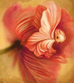 O Tapete Vermelho da Imagem: Images' Red Carpet: Uma fada de Benjamin Lacombe / A fairy by Benjamin Lacombe