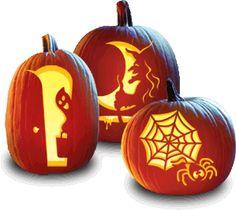 Heartland Homemaker: Free Halloween Pumpkin Stencils