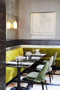 The Best Dining Room Inspo to Steal From Our Favorite Eateries via @MyDomaine