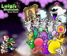 luigi's mansion dark moon - Buscar con Google