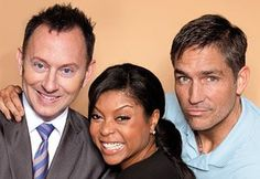 Michael Emerson, Taraji P. Henson and Jim Caviezel - Person of Interest