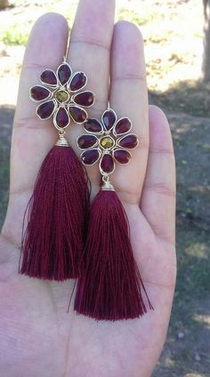 long beautiful earrings