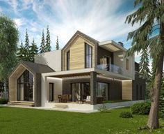 Кирпичный дом 305 м2. Доступен для заказа в поселках RADOSTЬ и РОЩА.