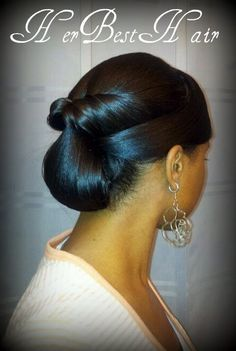 Beautiful updo Her Best Hair: 30 Styles in 30 Days