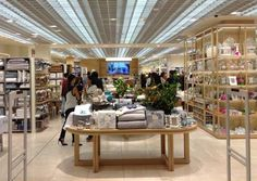 Interior of Zara Home Highpoint- The greatly anticipated first Zara Home store in Australia opens its doors in Highpoint Shopping Centre, Melbourne. In close co-operation with bokor architecture + interiors