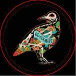 Nevermore Sugar Skull Raven Dinner Plates | Zazzle