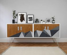 SOLD SOLD G Plan Mid Century Vintage Sideboard. Upcycled &
