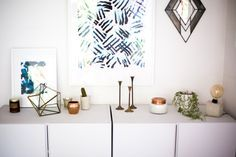 DIY Finger Paint Wall Art | Perfect to add texture to white walls or compliment photography on a gallery wall!