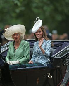 Camilla and Catherine's Trooping the Colour Adventures 2015.