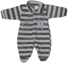 Macacão em Plush Luxo para sua bebê ficar muito mais quentinha! 8390a6294fc