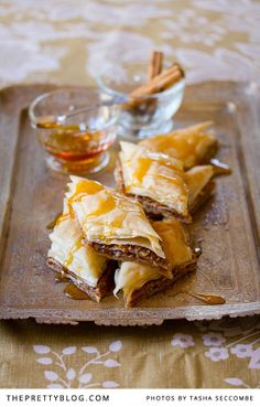 Baklava. One of the greatest desserts on this wonderful planet. The Greeks knew what they were doing! #greekcuisine