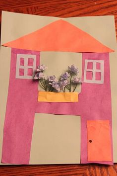 We are doing 'letter' of the week crafts - all of the ideas on this blog are awesome!