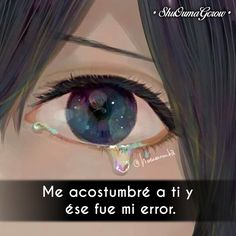 Me acostumbre #ShuOumaGcrow #Anime #Frases_anime #frases