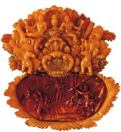 The Amber Room, Catherine Palace, Tsarskeloe Selo, Saint Petersburg, Russia. Carvings into real amber. Catherine The Great, Peter The Great, David And Saul, O Ritual, Amber Room, Amber Jewelry, Illustrations, Baltic Amber, Art Pieces