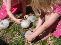 El juego de los Arqueólogos Helados - Juegos tradicionales para niños - Planes y Actividades con Niños - Charhadas.com