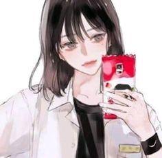 Kawaii Anime Girl, Anime Art Girl, Manga Girl, Manga Anime, Korean Anime, Beautiful Anime Girl, Anime Style, Aesthetic Anime, Cute Art