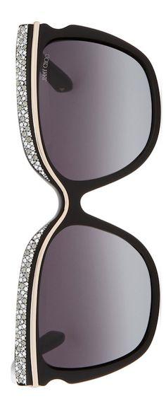 Jimmy Choo Sophia Embellished Sunglasses | House of Beccaria~