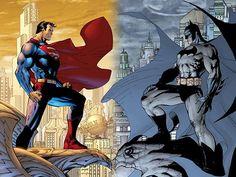 Batman vs Superman by Jim Lee