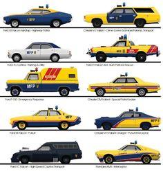 Mad Max Pursuit Cars