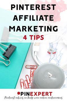 Wil jij affiliate marketing op Pinterest inzetten? Lees dan eerst dit bericht met handige tips en uitleg voor online ondernemers en bloggers.